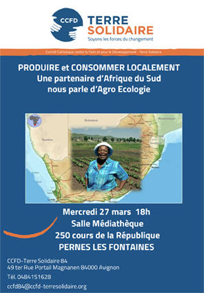 Conférence CCFD Terre Solidaire