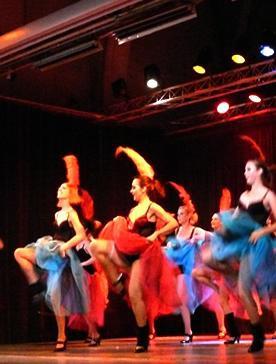 Gala du CLC, danse cabaret.
