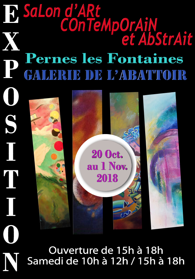 Salon d'Art contemporain et abstrait
