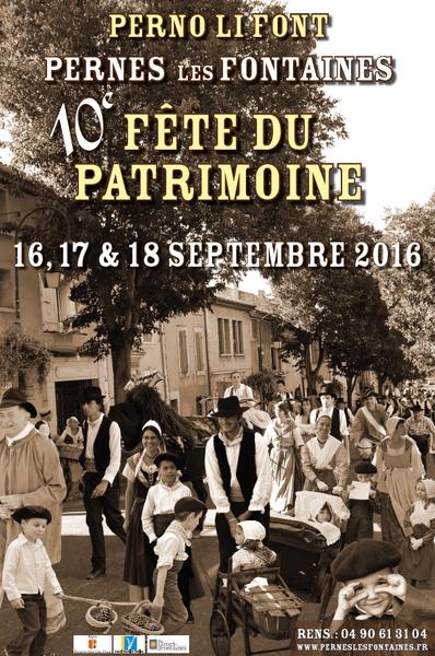 La Fête du Patrimoine 2016