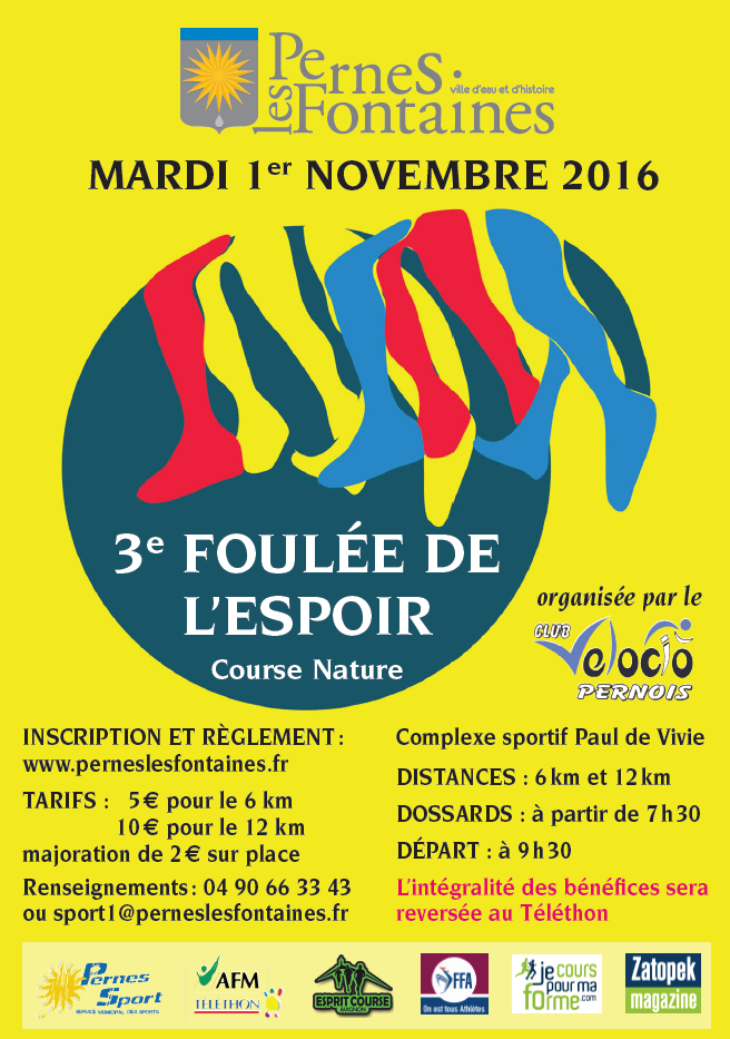 course 5 km vaucluse