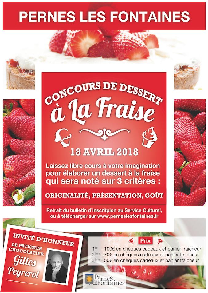Concours de desserts à la fraise | Informations locales | Ville de ...