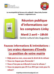Réunion d'informations LINKY