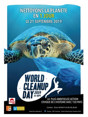 World Cleanup Day le 21 septembre 2019